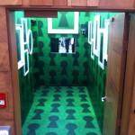 BBCAN diary room hallway