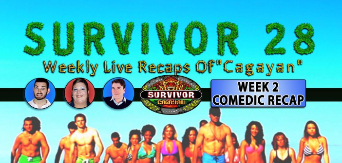 Survivor Cagayan: Week 2 Comedic Video Recap!