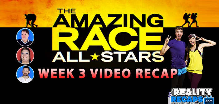 The Amazing Race 24 All Stars Week 3 Comedic Recap