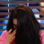 Neda cries