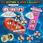 WEEK 2 ALLIANCE CHART