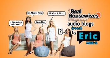 RHOC Audio Blog, Bravo