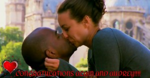 Alain Chanoine proposes to Audrey Tousignant-Maurice on The Amazing Race Canada 2. She said YES!