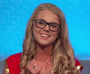 Nicole Franzel is the third member of the jury on Big Brother 16 episode 23
