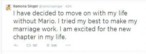 ramona divorces Mario