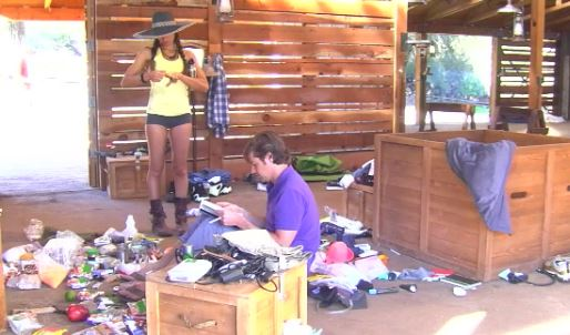 already the house is a mess on Utopia