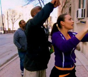 Alain and Audrey look for vintage billboards on Amazing Race Canada2 episode 6