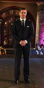 Tim Wormels awaits the arrival of his ladies on The Bachelor Canada 2 Episode 1