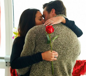 Tim Warmels and Kaylen share their first kiss on The Bachelor Canada 2 episode 2