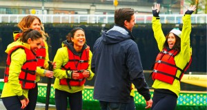 The Yellow teams wins the Dragon Boat race and an afterparty with Tim Warmels on The Bachelor Canada 23 Episode 2