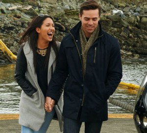 Tim Warmels take Kaylynn on a helicopter ride for their first date on The Bachelor Canada 2 episode 2