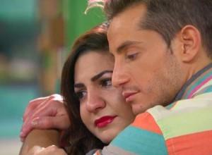 Frankie Grande comforts a sad Victoria Rafaeli on Big Brother 16 episode 35