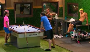 Caleb Reynolds spills the beans to Frankie Grande about the plans for the week on Big Brother 16 episode 37