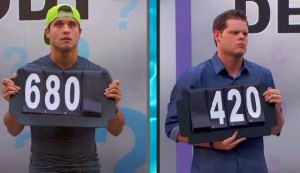 Derrick Levasseur and Cody Calafiore battle it out in a tie breaker on Big Brother 16 episode 37