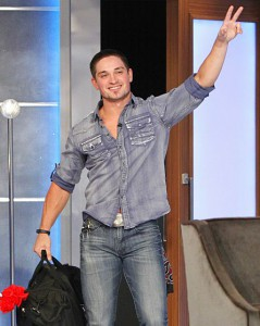 Caleb Reynolds is evicted from the Big Brother 16 house on episode 38