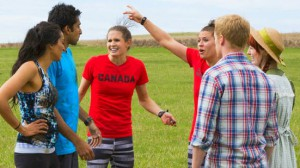 Natalie Spooner and Meaghan Mikkelson chastise Sukhi and Jin