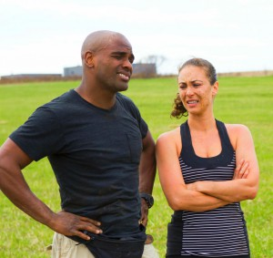 AlainChanoine and Audrey Tousignant-Maurice are elminated from Amazing Race Canada 2 episode 10
