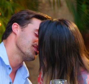 Tim Warmels and Sachelle connect after their dancing date in a one on one dinner on The Bachelor Canada 2 episode 3