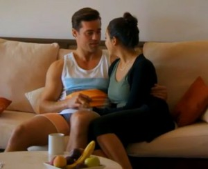 Kaylynn steals some one one one time of her own with Tim Warmels on The Bachelor Canada 2 episode 3