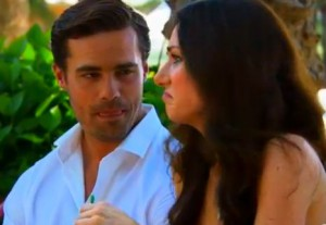 Even a Daiquiri couldn't loosen Natalie up on her one on one with Tim Warmels on The Bachelor Canada 2 episode 4