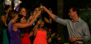 no one else was sent home and Tim Warmels and the ladies are on their way to Toronto on The Bachelor Canada 2 episode 4