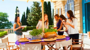 The girls check out Casa Buitoni in Tuscany Italy on The Bachelor Canada 2 episode 6