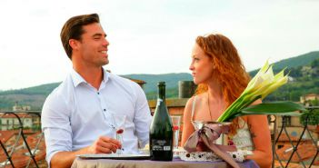 Tim Warmels and Lisa Racz have a romantic roof top dinner on The Bachelor Canada 2 episode 6
