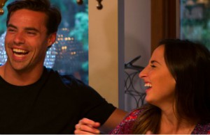 Tim Warmels has some laughs at Sachelle's house on The Bachelor Canada 2 episode 7