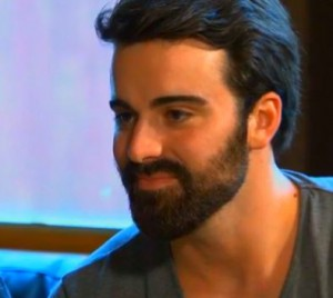 Sachelle's brother Shane stares down Tim Warmels on The Bachelor Canada 2 episode 7