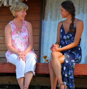 April Brockman sits down with Tim Warmels mom on The Bachelor Canada episode 9
