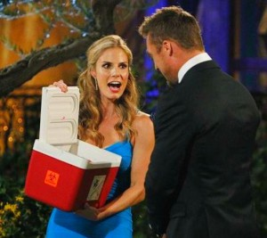 Chris Soules meets Reegan Cornwell for the first time on The Bachelor Season 19