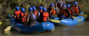 Chris Soules takes his girls river rafting on The Rio Grande on The Bachelor 19 Episode 5