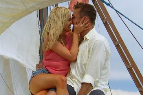 Whitney and Chris Soules share a romantic date in Bali on The Bachelor 19 episode 10