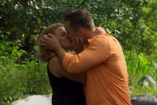 Becca and Chris share a romantic date in Bali on The Bachelor 19 episode 10