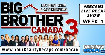 Jon Richardson and Dana Goodyear recap Big Brother Canada 3 Week 1