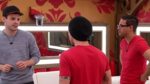 Kevin Martin riles up Bobby Hlad to nominate a girl on Big Brother Canada 3 episode 4