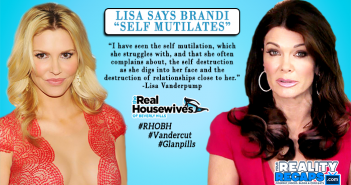 Lisa Vanderpump Says Brandi Glanville Is A Cutter
