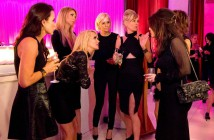The ladies of RHOBH create their own entertainment at Adrienne Maloof's party