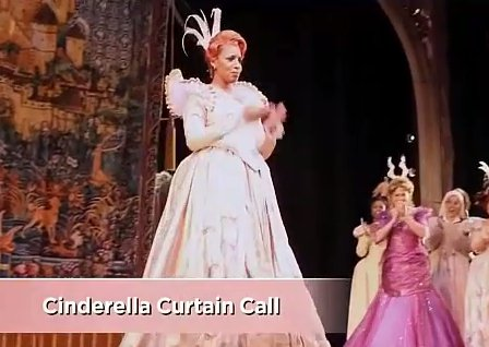 NeNe Leakes as Cinderella on Broadway RHOA Season Finale