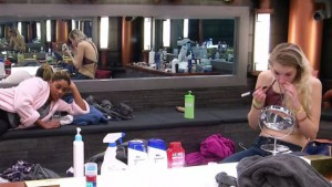 Brittnee Blair and Sarah Hanlon talk strategy on Big Brother Canada 3 episode 7