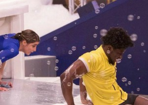 Willow MacDonald and Godfrey Manzwiga compete for HOH on BBCAN episode 9