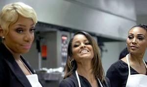 RHOA NeNe Leakes, Claudia Jordan and Cynthia Bailey