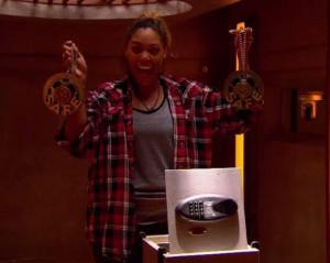 Brittnee Blair wins the secret double veto on BBCAN3 episode 22