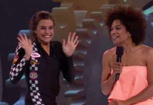 Pilar Nemer ws victim to the second eviction on BBCAN3 double eviction episode 26