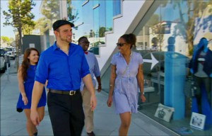 The red team goes shopping as part of their reward for winning the taste test challenge on Hell's Kitchen season 14.