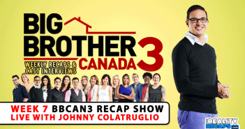 We talk with BBCAN3 Johnny Colatruglio