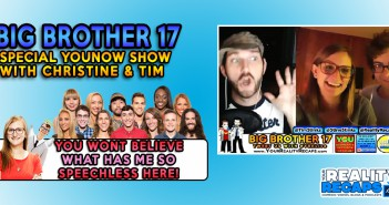Christine & Tim Brecht Big Brother 17 Buyback Special!