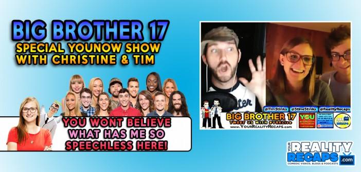 Christine & Tim Brecht Big Brother 17 Buyback Special!