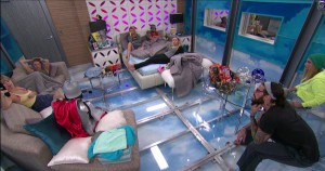 A meeting of the minds in the HOH room #BB17