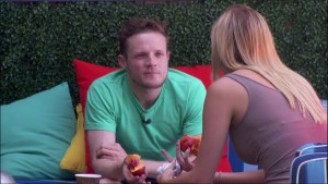 Liz grills Johnny Mac about his intentions in the game #BB17
